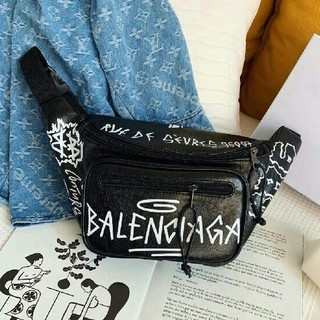 Balenciaga - Balenciaga グラフィティ ベルトバッグ