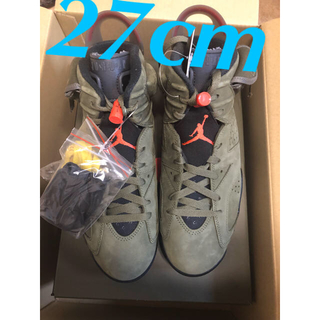 NIKE - 【27cm 】TRAVIS SCOTT X NIKE AIR JORDAN6