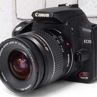 Canon - ★初心者最適機種★Canon kiss N レンズセット キャノン