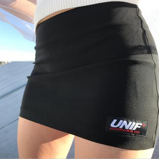 ユニフ(UNIF)のUNIFスカート(ミニスカート)