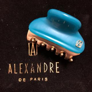 アレクサンドルドゥパリ(Alexandre de Paris)の新品 アレクサンドルドゥパリ 4.5㎝クリップ(バレッタ/ヘアクリップ)