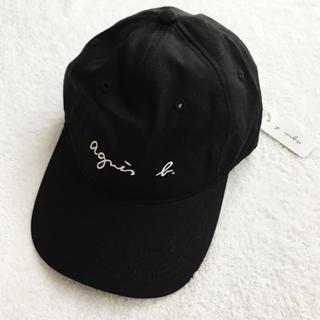 agnes b. - 新品 ★ agnes b. キャップ 帽子 ブラック