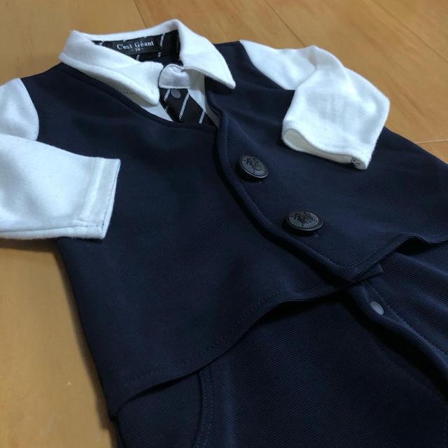 専用☆70センチ ロンパース  キッズ/ベビー/マタニティのベビー服(~85cm)(ロンパース)の商品写真
