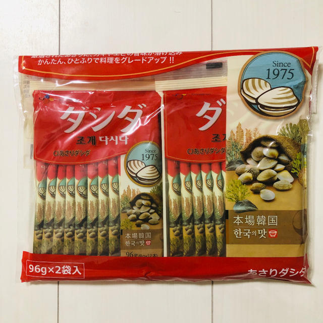 コストコ(コストコ)のダシダ あさりダシダ 8g×24本 送料込み 食品/飲料/酒の食品(調味料)の商品写真
