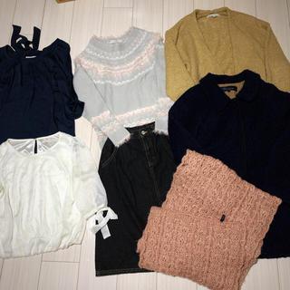 マーキュリーデュオ(MERCURYDUO)の冬服まとめ売り(セット/コーデ)