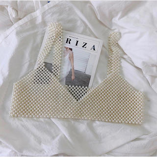 Lily Brown - Pearl bustier パールビスチェ