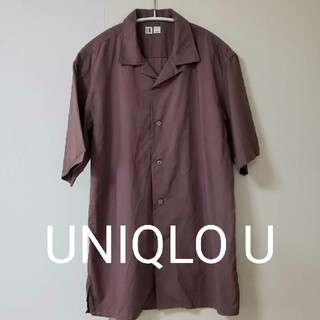 UNIQLO - UNIQLO U オープンカラーシャツ メンズ M    ユニクロ