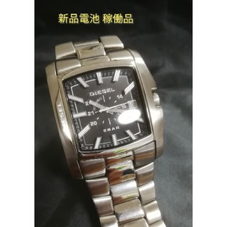 DIESEL - DIESEL 腕時計 稼働品 新品電池