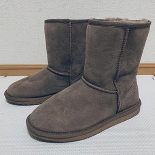 エミュー(EMU)のEMU エミュー ムートンブーツ 25サイズ (ブーツ)