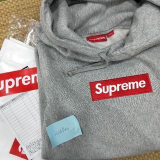 Supreme - Supreme box logo pullover XL