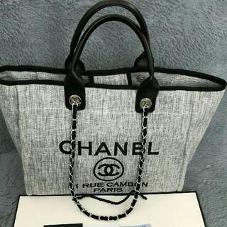 CHANEL - ★グレー トートバッグ