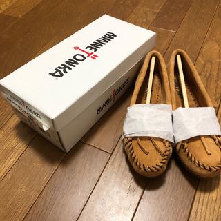 Minnetonka - ☆新品未使用☆ミネトンカ モカシン 407T TAUPE 6.5(23.5)