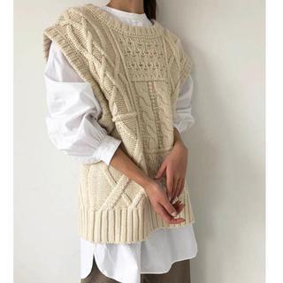 TODAYFUL - Cable Knit Vest