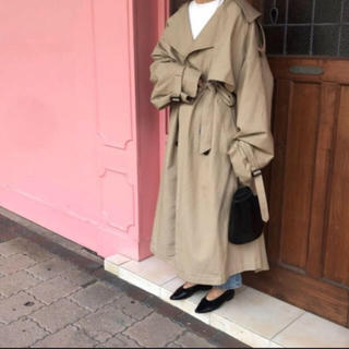 TODAYFUL - FLÉN oversize trench coat ベージュ