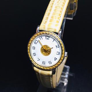 Hermes - 【美品】エルメス セリエ 腕時計 ゴールド レディース Hウォッチ クリッパー