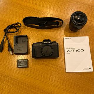 富士フイルム - Fujifilm x-t100 + XF18-55 おまけ付き