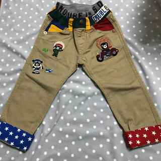 mikihouse - ダブルB 豪華刺繍ズボン