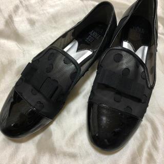 アナスイ(ANNA SUI)のANNA SUI!大人可愛いシューズ✧︎本革 黒(ブーツ)