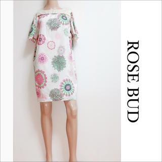 ROSE BUD - ROSE BUD デザイン ワンピース♡ships スライ ZARA ビームス