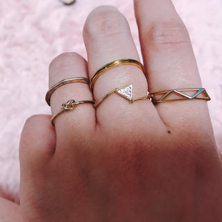 カスタネ(Kastane)のセットリング(リング(指輪))
