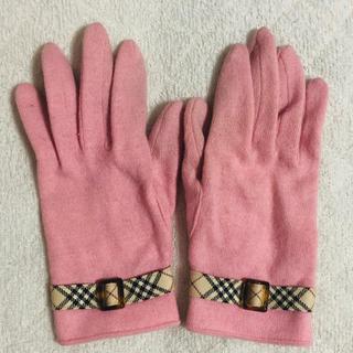 バーバリー(BURBERRY)のBurberry バーバリー♡ カシミヤ手袋 (手袋)