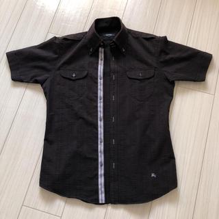 バーバリーブラックレーベル(BURBERRY BLACK LABEL)のBURBERRYBLACKLABEL シャツ(Tシャツ/カットソー(半袖/袖なし))