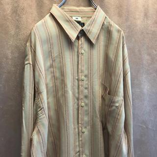バーニーズニューヨーク(BARNEYS NEW YORK)の90s バーニーズニューヨーク イタリア製 シャツ vintage 古着(シャツ)