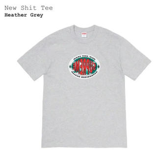 シュプリーム(Supreme)の☆Supreme[New Shit Tee Grey Tシャツ]新品未開封品☆(Tシャツ/カットソー(半袖/袖なし))