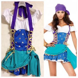 ハロウィンコスプレ 海賊パイレーツコスチューム(衣装一式)