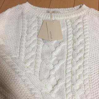 UNTITLED - 新品タグ付き❤️アンタイトル  ケーブル編み