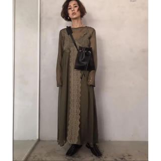 Ameri VINTAGE - AMERI MEDI 4WAY SHEER LACE DRESS