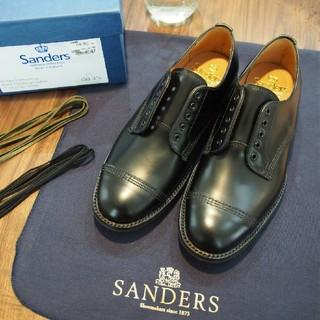 サンダース(SANDERS)のSANDERS(サンダース) military derby shoe(ローファー/革靴)