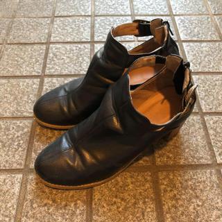 オリエンタルトラフィック(ORiental TRaffic)のブーツ 黒(ブーツ)