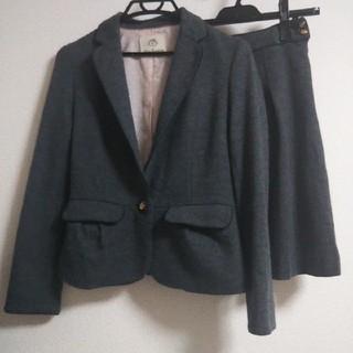 CLEAR IMPRESSION - クリアインプレッション スーツ ジャケット スカート サイズ3 グレー 秋冬物