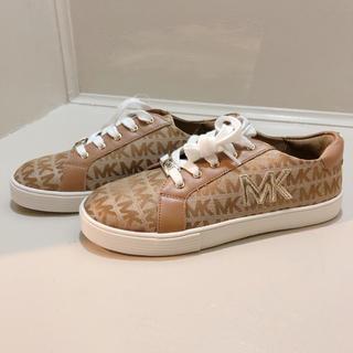 マイケルコース(Michael Kors)の新品 未使用 マイケルコース  MK 柄 総柄 スニーカー 靴(スニーカー)