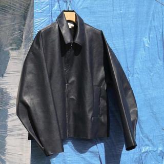SUNSEA - yoke so john 別注Faux Leather Jacket