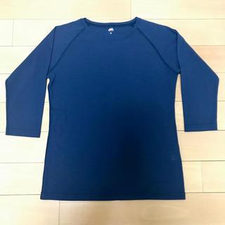 モンベル(mont bell)の【美品・送料込み】モンベル ウィックロン 七分袖Tシャツ(Tシャツ(長袖/七分))