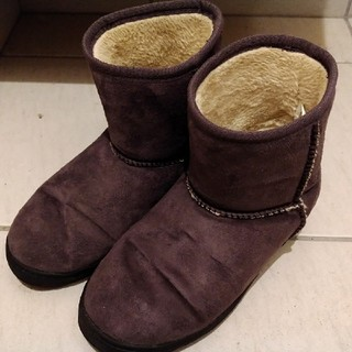 ムジルシリョウヒン(MUJI (無印良品))の【無印良品 ムートンブーツ】(ブーツ)