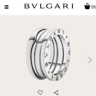 BVLGARI - ブルガリ B zero 1 リング 61 K18 ホワイトゴールド