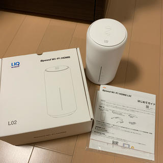 au - UQ wimax Speed Wi-Fi HOME L02