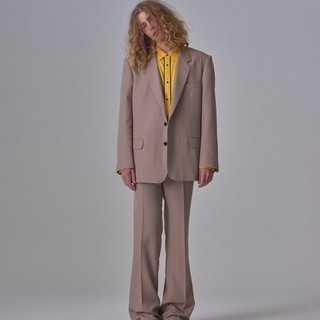 JOHN LAWRENCE SULLIVAN - LITTLE BIG風 ヴィンテージ スーツ セットアップ ピンクベージュ