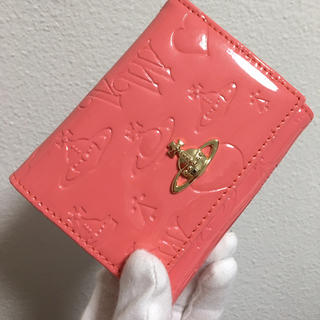 Vivienne Westwood - エナメルピンクがま口財布❤️ヴィヴィアンウエストウッド❤️新品・未使用