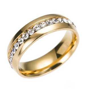 ゴールドリング (ゴールド)  サイズ:18号(リング(指輪))