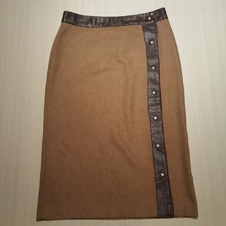 ディーアンドジー(D&G)のD&G ウール  スカート(ひざ丈スカート)