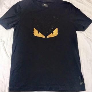 美品♪ FENDI ラインストーンTシャツ
