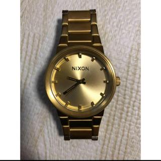 ニクソン(NIXON)のnixon 腕時計 ゴールド(腕時計(アナログ))