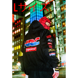 シュプリーム(Supreme)のSupreme HONDA Puffy Zip Up Work Jacket(ブルゾン)