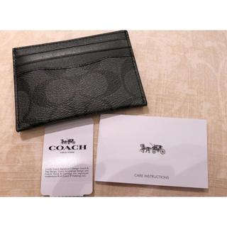 コーチ(COACH)の新品❤︎コーチ カードケース(名刺入れ/定期入れ)