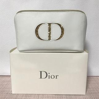 Dior - 【新品未使用】Dior 2019 クリスマス ポーチ ショッパー付き