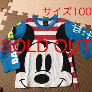 ベビードール(BABYDOLL)のbaby doll 長袖シャツ 男の子 サイズ100(Tシャツ/カットソー)